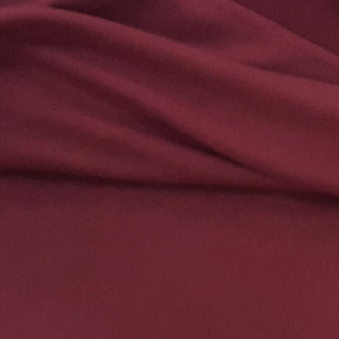 Tissu Polaire Unie Groseille