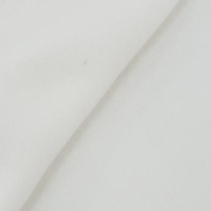Tissu Polaire Unie Ecru