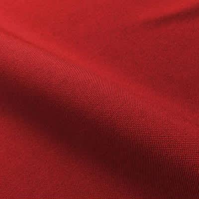 Tissu Polyester Uni Rouge