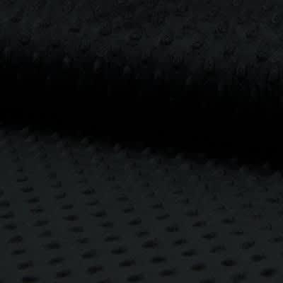 Tissu Minkee Noir