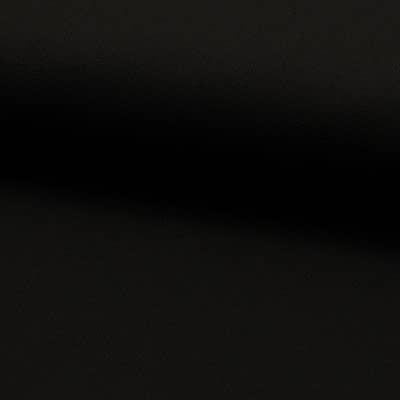 Toile coton ameublement Noir