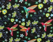 Simili Cuir colibri noir
