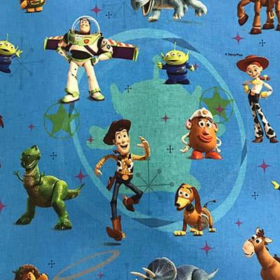 Tissu Toy Story