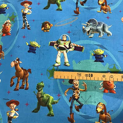 Tissu Toy Story mesure