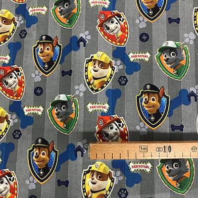 Tissu Paw Patrol 2 mesure