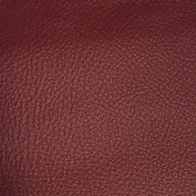 Simili Cuir Grain Bordeaux