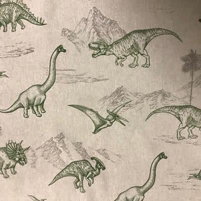 Tissu Aspect LinDinosaures
