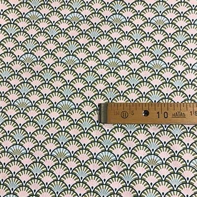 Tissu coton imprimé anisa mètre