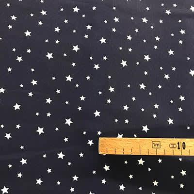 Tissu coton imprimé étoile marine mètre