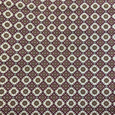 Tissu coton imprimé ethnique