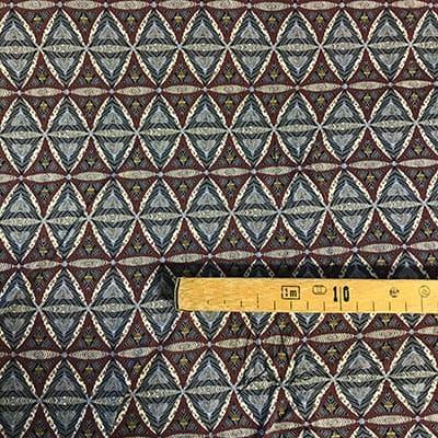 Tissu jersey imprimé losange mètre