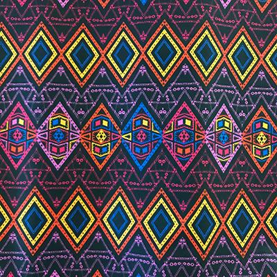 Tissu coton imprimé purplerain