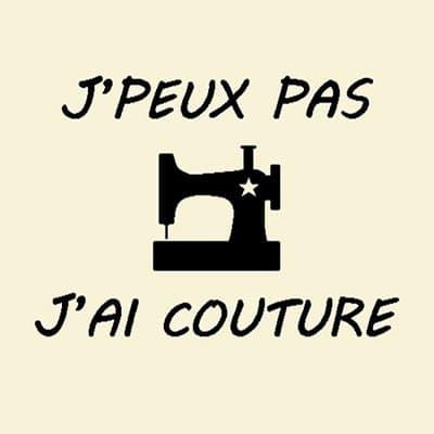Carré de tissu J'ai couture