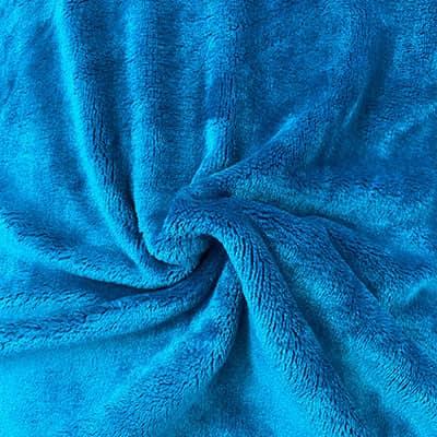 Doudou Uni bleu canard