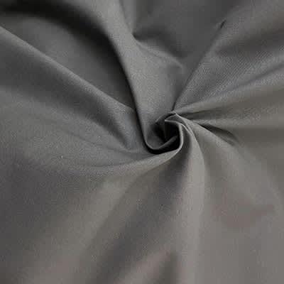 Tissu Coton Uni anthracite