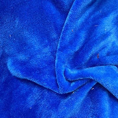 Doudou Uni bleu roi