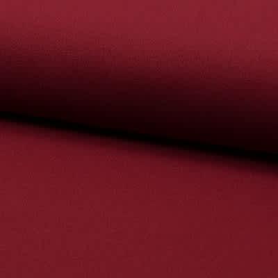 Tissu Polyester Uni bordeaux