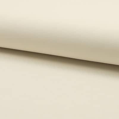 Tissu Polyester Uni écru