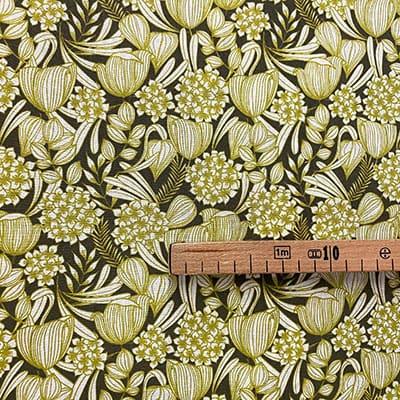 Tissu coton imprimé brousse mètre