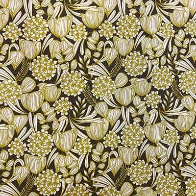 Tissu coton imprimé brousse