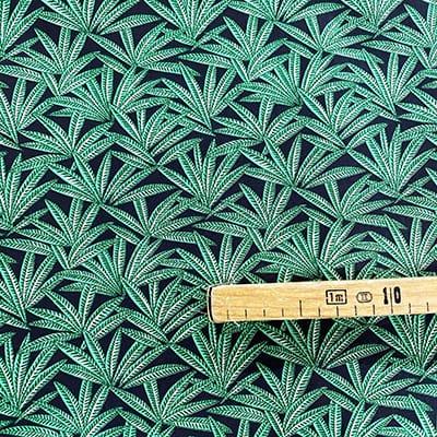 Tissu coton imprimé fenouillet mètre