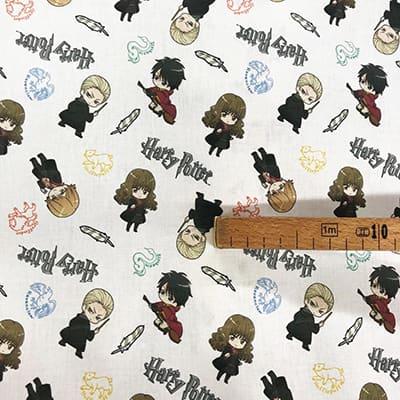 Tissu coton Harry Potter quidditch mètre