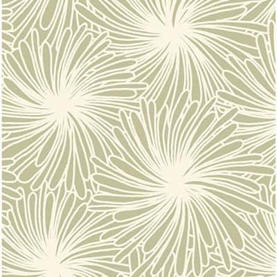 Tissu coton imprimé futon beige