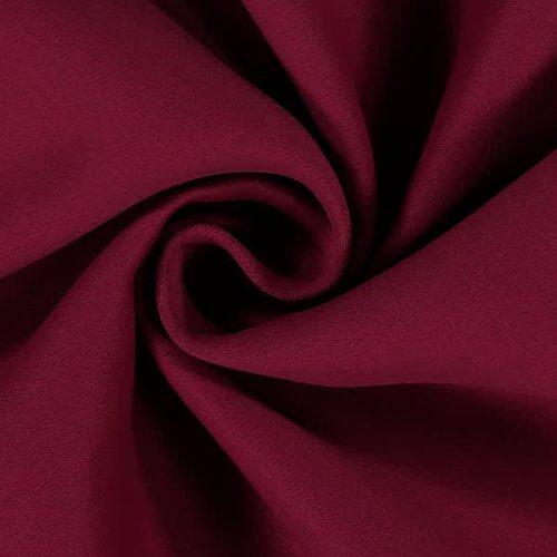 Tissu occultant bordeaux
