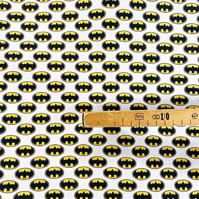 Tissu coton imprimé Batman mètre