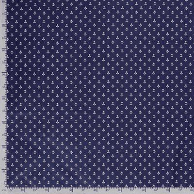 Tissu coton imprimé encre mètre